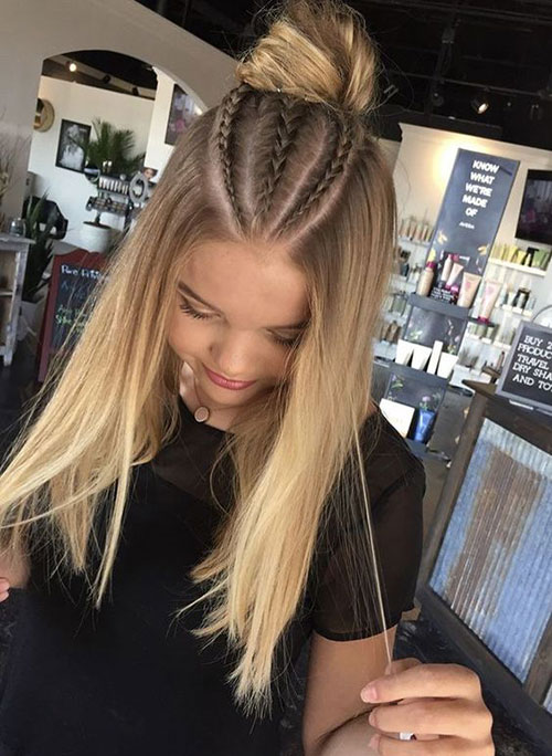 Braided Hairstyles for Blonde Hair-12