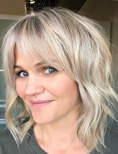 Hairstyles with Bangs 2019-12