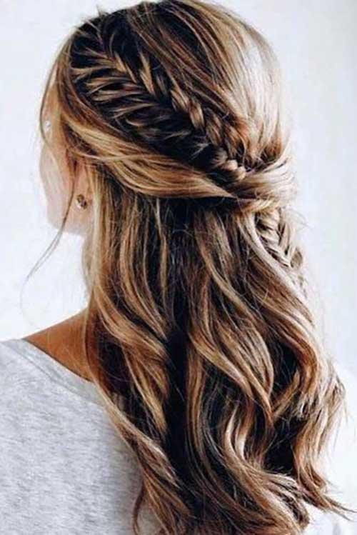 Cute Half Up Half Down Hairstyles-12