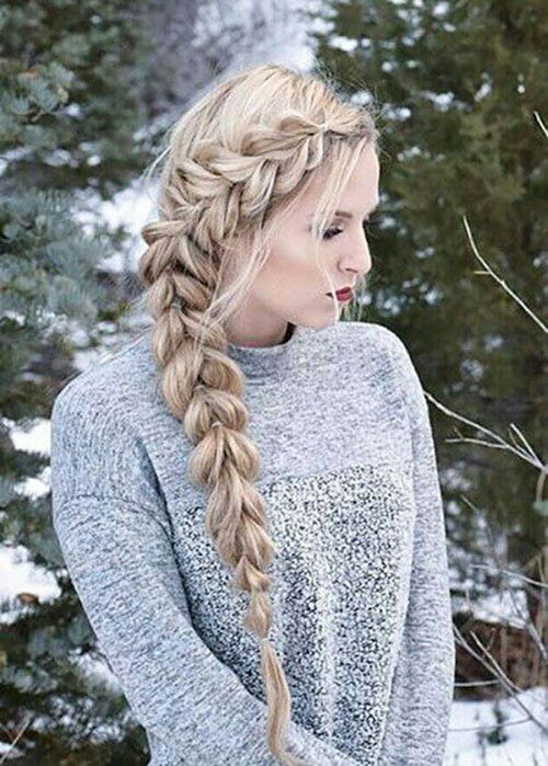 Braided Hairstyles for Blonde Hair-13