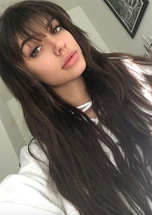 Hairstyles with Bangs 2019-13
