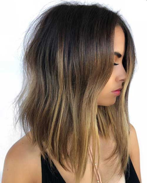 Long Bob Cut Hairstyle-13