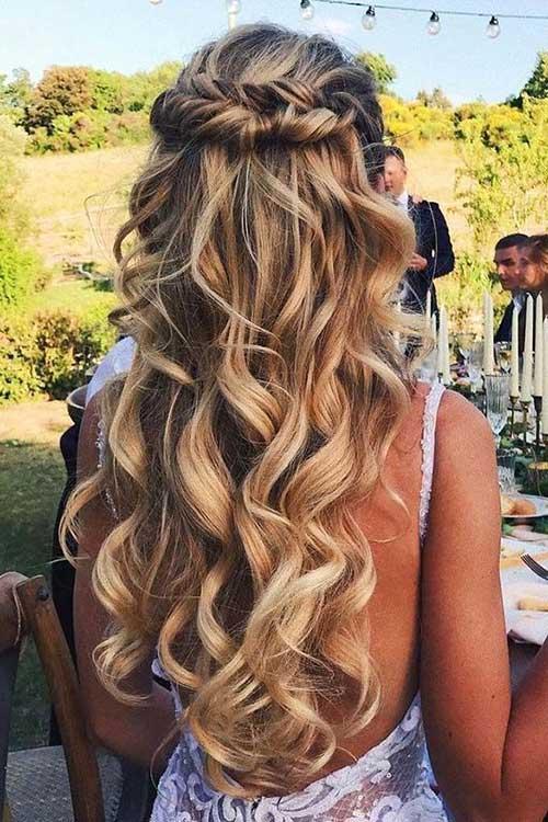 Cute Half Up Half Down Hairstyles-15