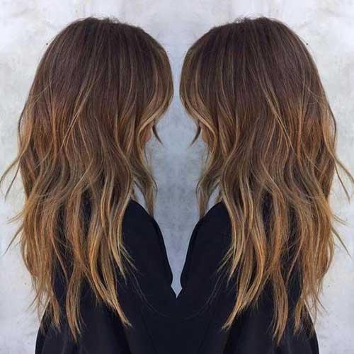Yan Patlama Katmanlı Saç-15