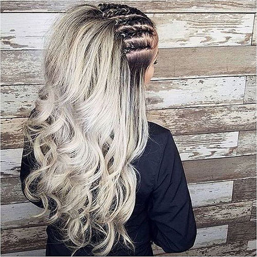 Braided Hairstyles for Blonde Hair-16