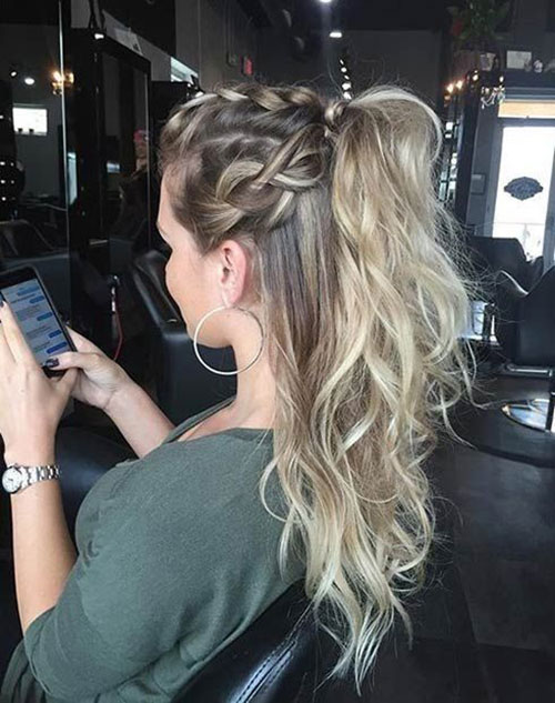 Braided Hairstyles for Blonde Hair-17