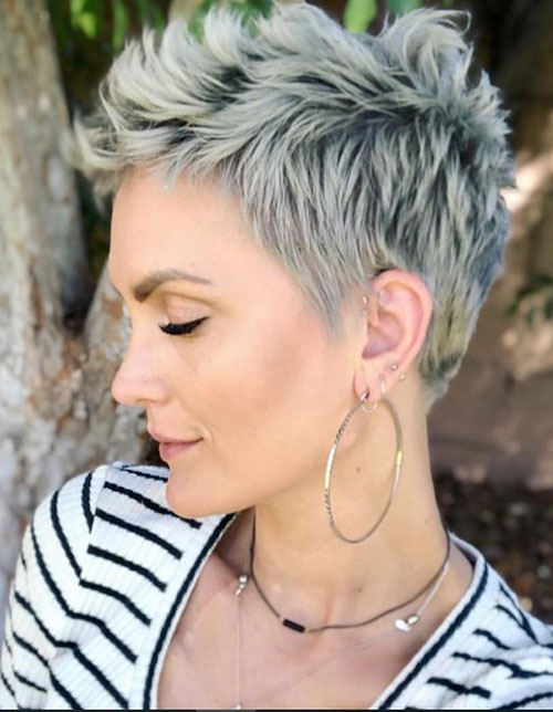 Short Pixie Cuts 2019-17