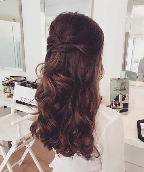 Cute Half Up Half Down Hairstyles-18