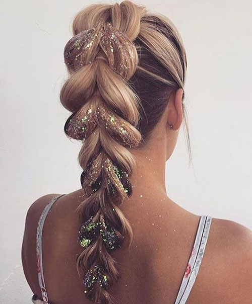 Braided Hairstyles for Blonde Hair-19