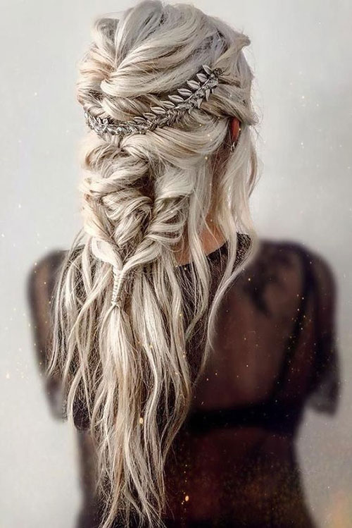 Braided Hairstyles for Blonde Hair-20