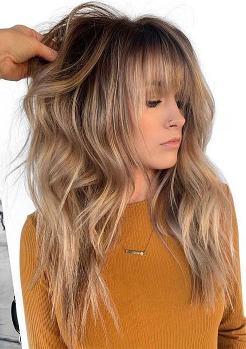 Hairstyles with Bangs 2019-20