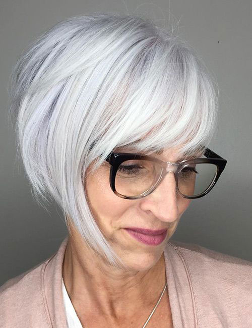 Hairstyles with Bangs 2019-6