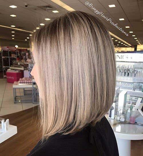 Long Bob Cut Hairstyle-6
