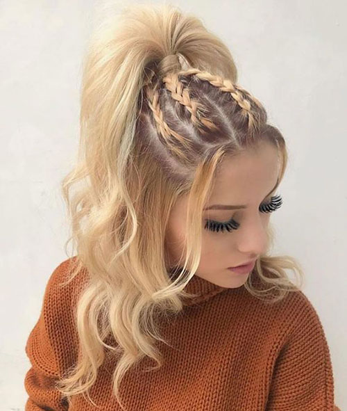 Braided Hairstyles for Blonde Hair-7