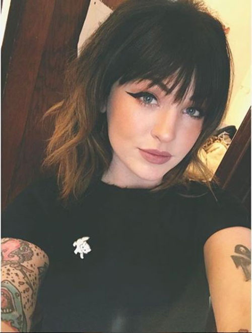 Hairstyles with Bangs 2019-7