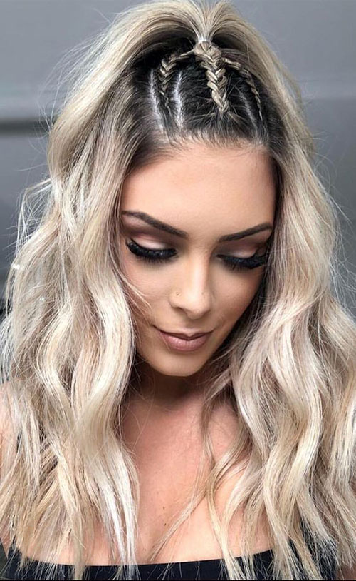 Braided Hairstyles for Blonde Hair-8