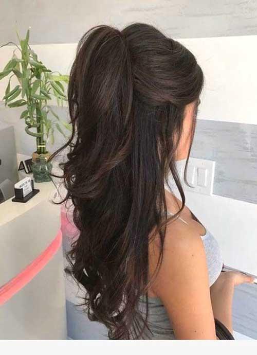 Cute Half Up Half Down Hairstyles-8