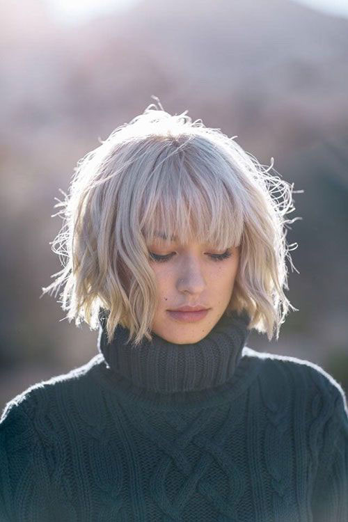 Hairstyles with Bangs 2019-9