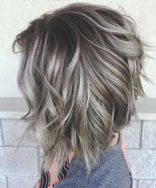 Long Bob Cut Hairstyle