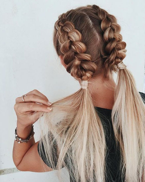 Braided Blonde Hairstyles