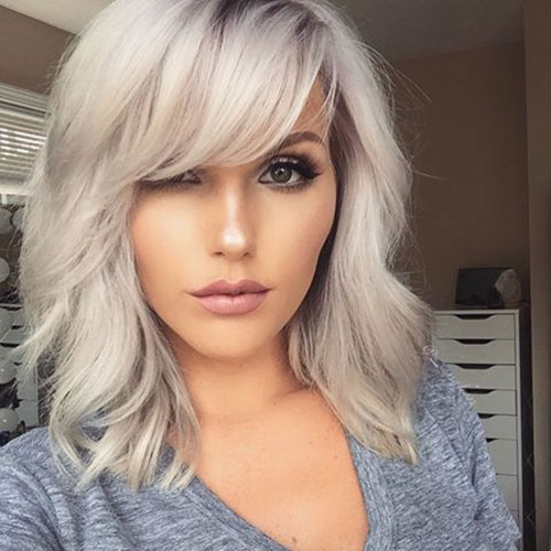 Latest 20 Hairstyles with Bangs 2019