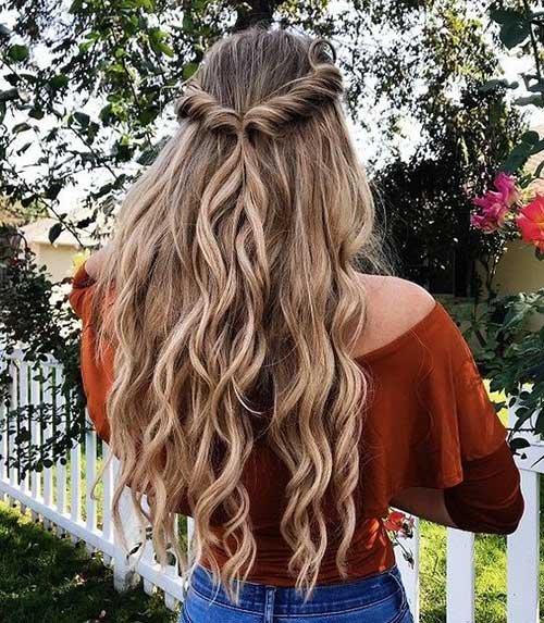 20 Stylish Half Up Half Down Hairstyles
