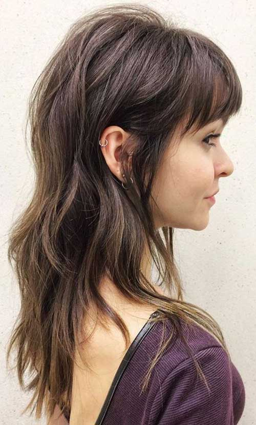Layered Side Bangs