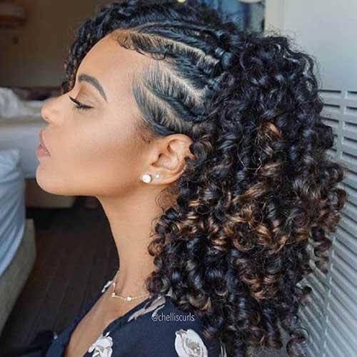 Frisuren für lockiges Haar-12