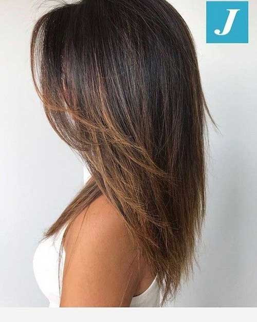 Medium Layered Hairstyles-12