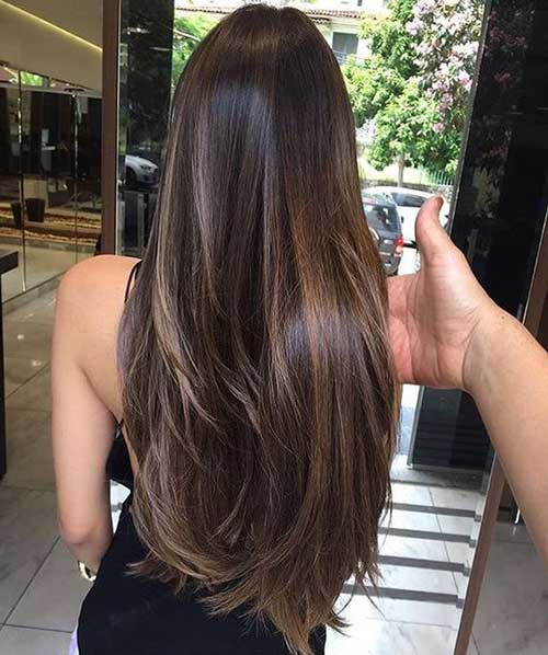Amazing 20 Ideas About Long Brown Hairstyles