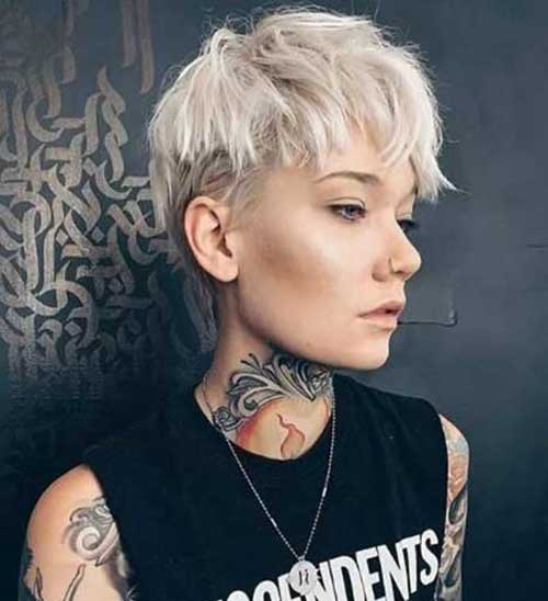 Super Pixie Cut Hairstyles with 20 Pics