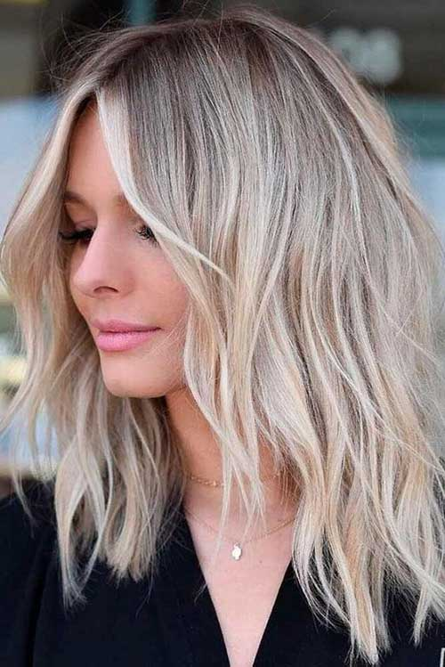 Shoulder Length Layered Hair