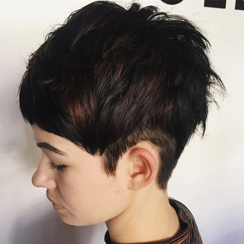 Pixie Haircut With Highlights Pictures