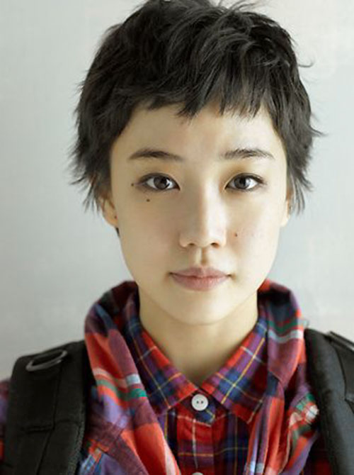 Japanese Short Hair Cut