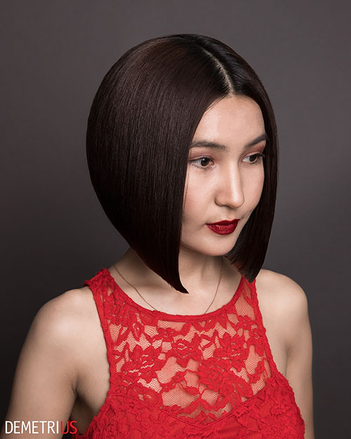 Short Haircuts For Thick Hair And Round Faces Images