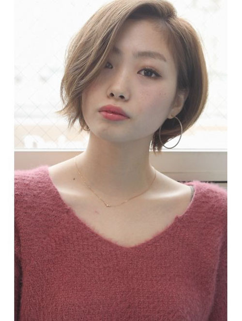 Popular Korean Short Hairstyles