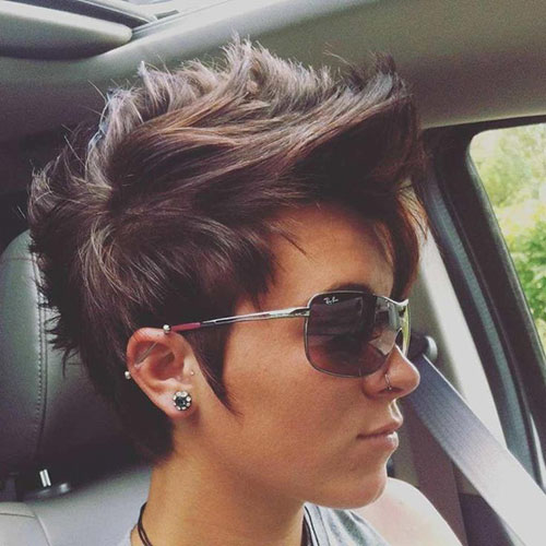 Punk Pixie Haircut