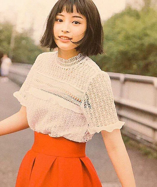 Japanese Short Hair Pictures
