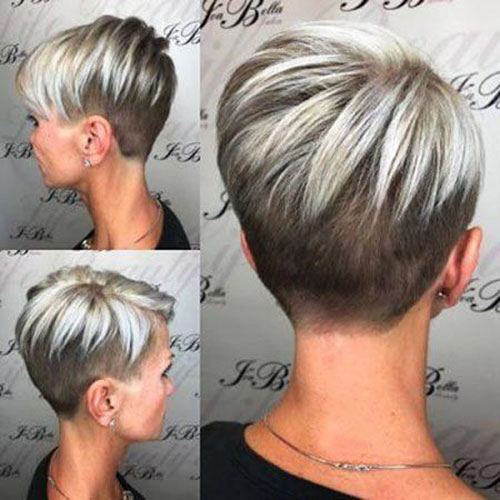 Pixie Hair With Highlights