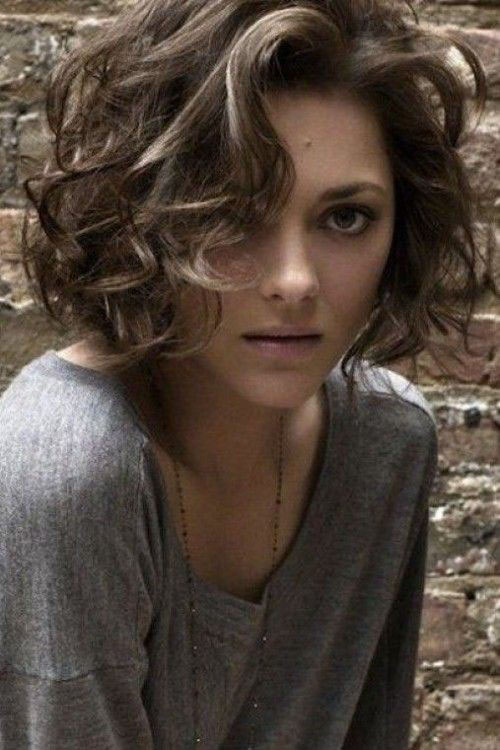 Pictures Of Curly Bob Hairstyles