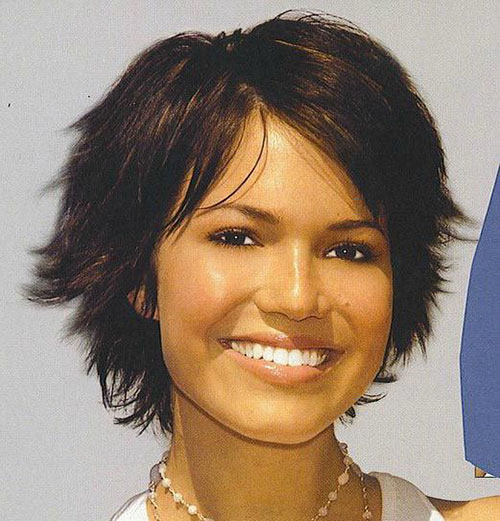 Short Haircuts For Thick Hair And Round Faces