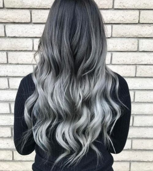 20 Extreme Nice Black And Grey Hair Styles
