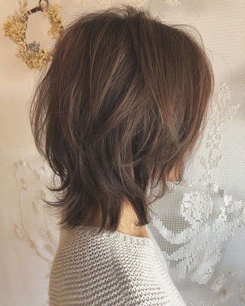 Layer Hair Cut Images