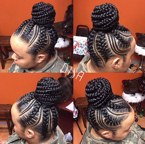 Black Braided Hair Styles