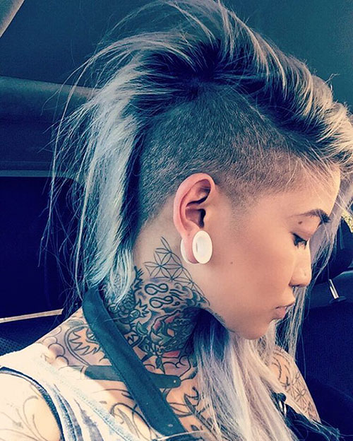 Undercut Haircut Girl