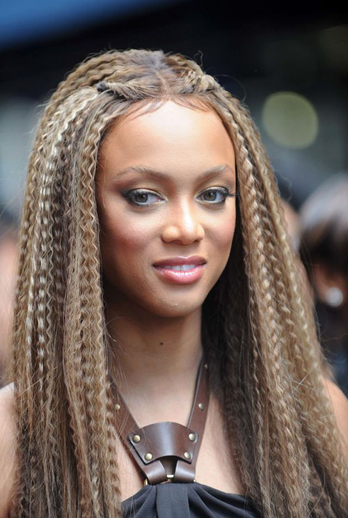 Crimped Hair Ideas