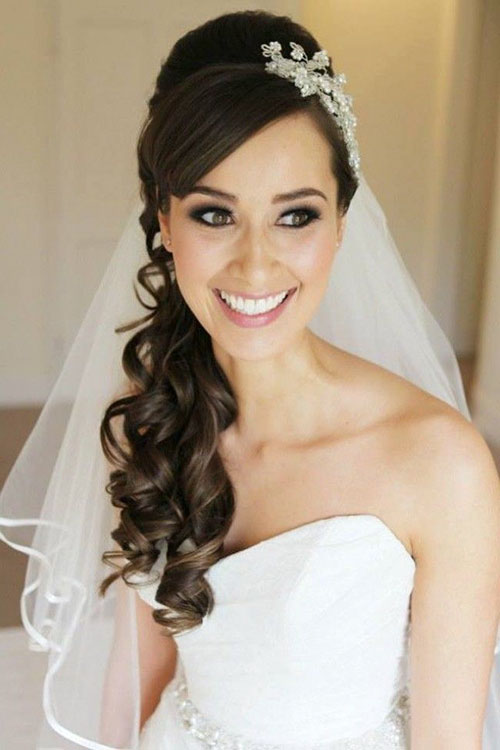 Wedding Hairstyles For Long Hair To The Side