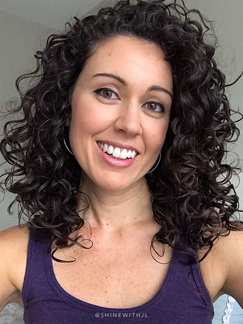 Shoulder Length Haircuts For Curly Hair