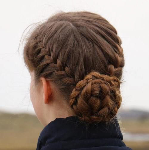 Braided Bun Hairpiece