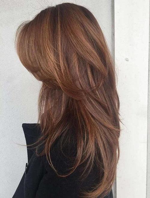 Thick Layered Hair
